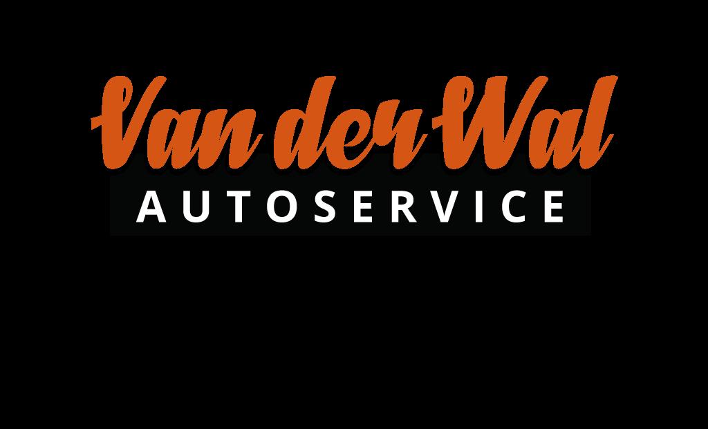 Logo van der wal autoservice